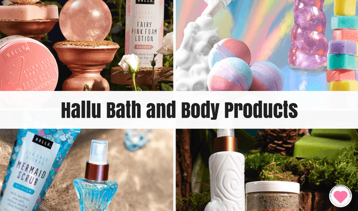 Hallu Bath and Body Products are available at Walmart