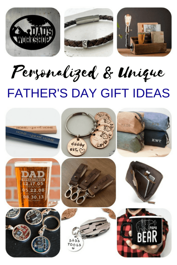 personalized and unique Father's Day gift ideas