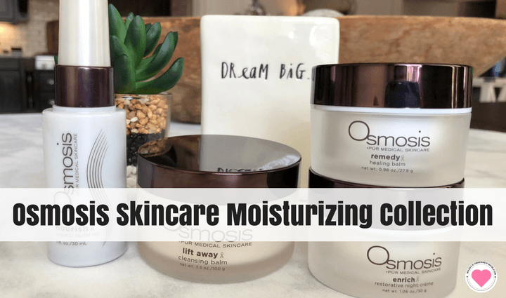 Osmosis Skincare moisturizing collection
