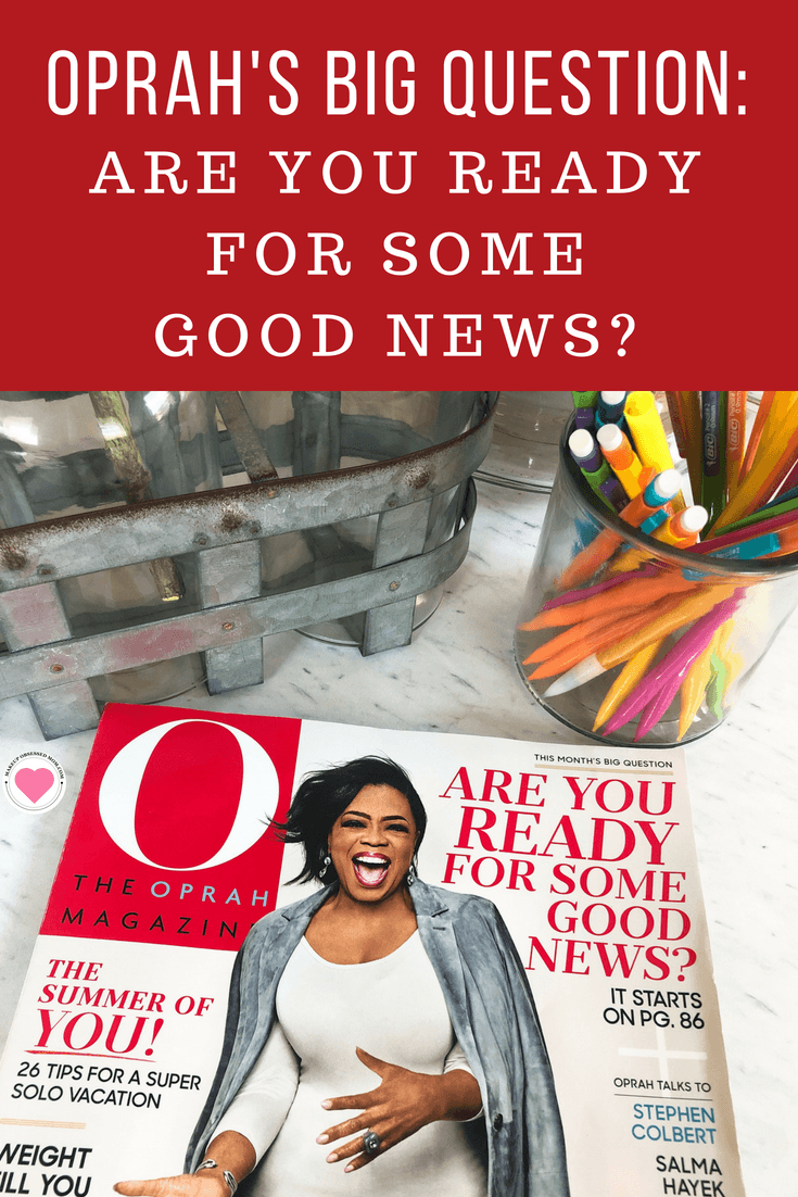June\'s Big Question - Are You Ready for Some Good News?