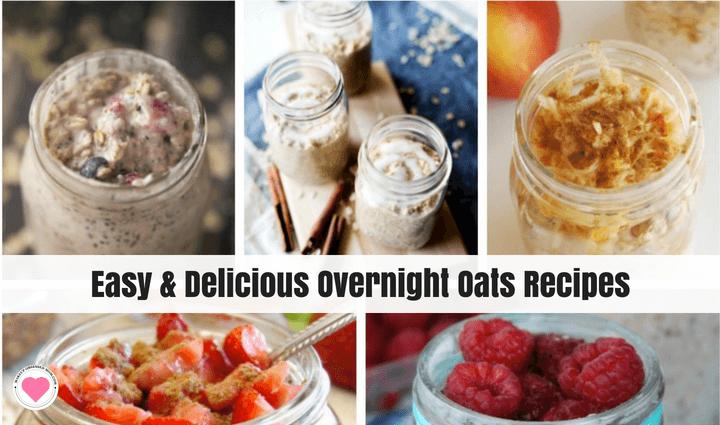 easy overnight oats recipes