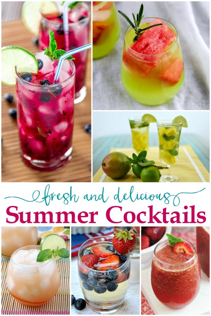 fresh and delicious summer cocktail recipes