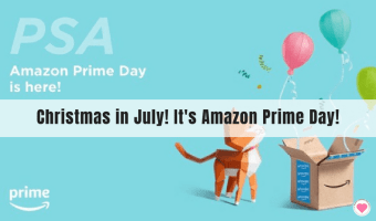 Christmas in July! It's Amazon Prime Day