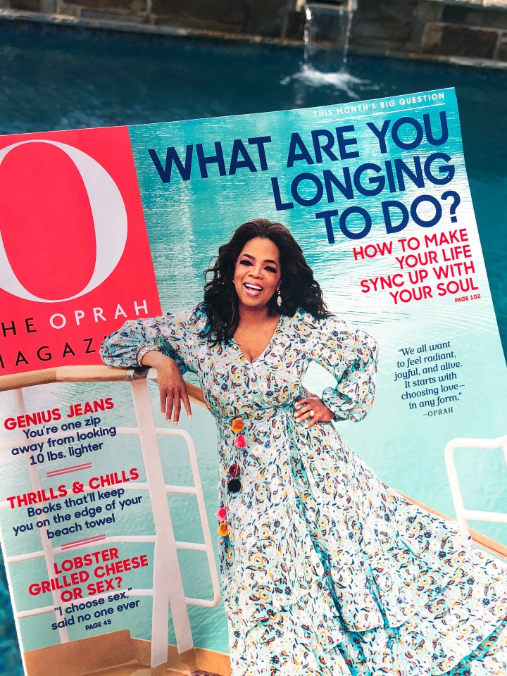 Oprah Magazine Big Question August 2018