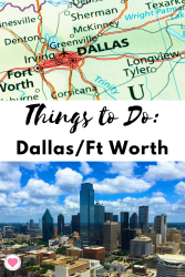 Fun places in Dallas and Fort Worth