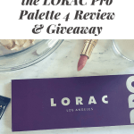 Lorac Pro Palette 4 review and giveaway