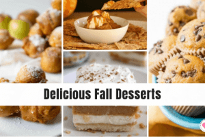 delicious Fall desserts recipe roundup