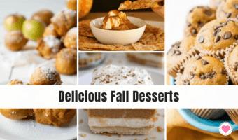 delicious Fall desserts recipe roundup