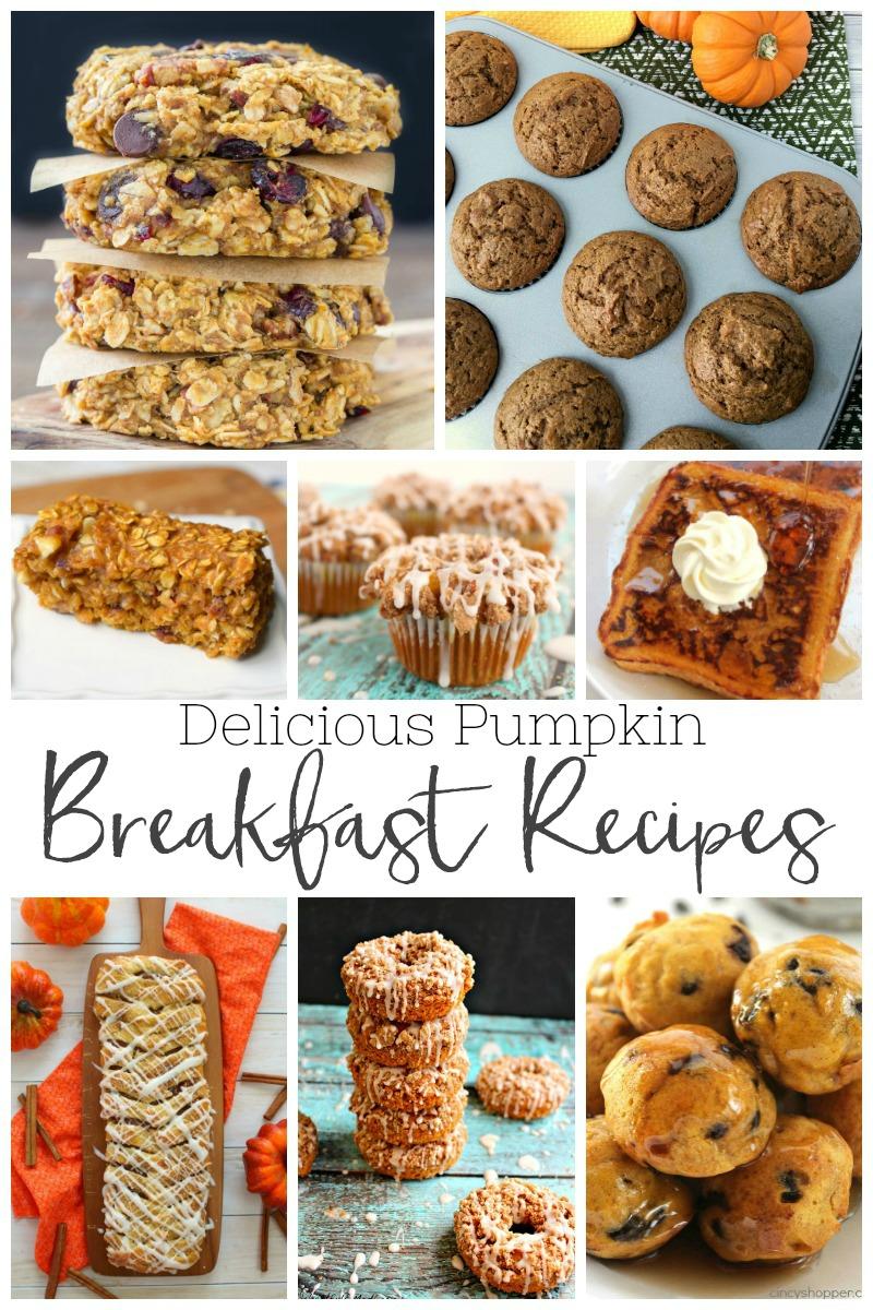 The Best Pumpkin Breakfast Recipes