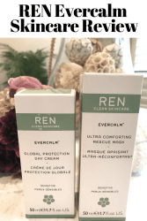 REN Evercalm Skincare Review for sensitive skin