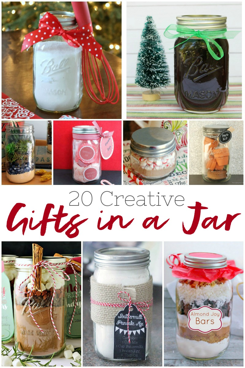 20 Creative Gifts in a Jar
