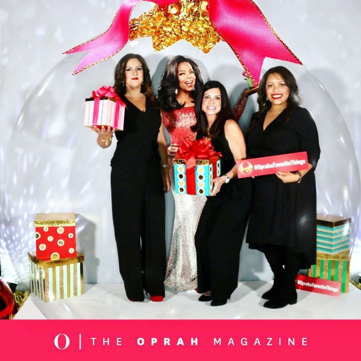 Oprah's Favorite Things Reveal Party NYC
