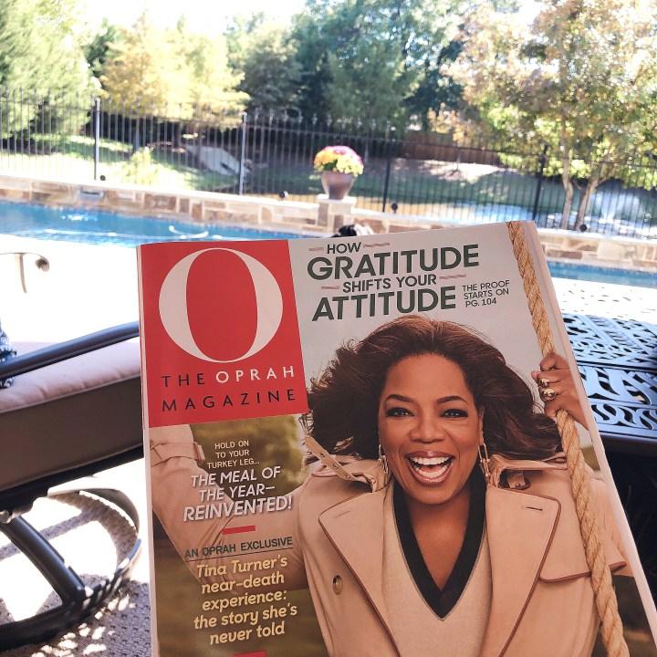 Oprah Magazine November 2018