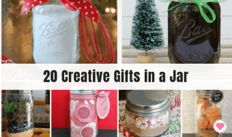 creative gifts in a jar
