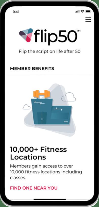 flip50 member benefits