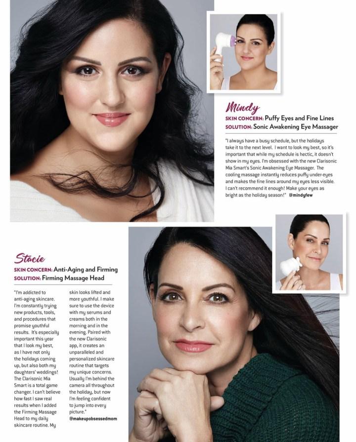 Clarisonic ad December Oprah Magazine