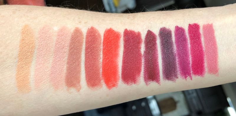 Real Her matte lipstick swatches