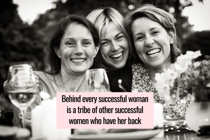 tribe of supportive women