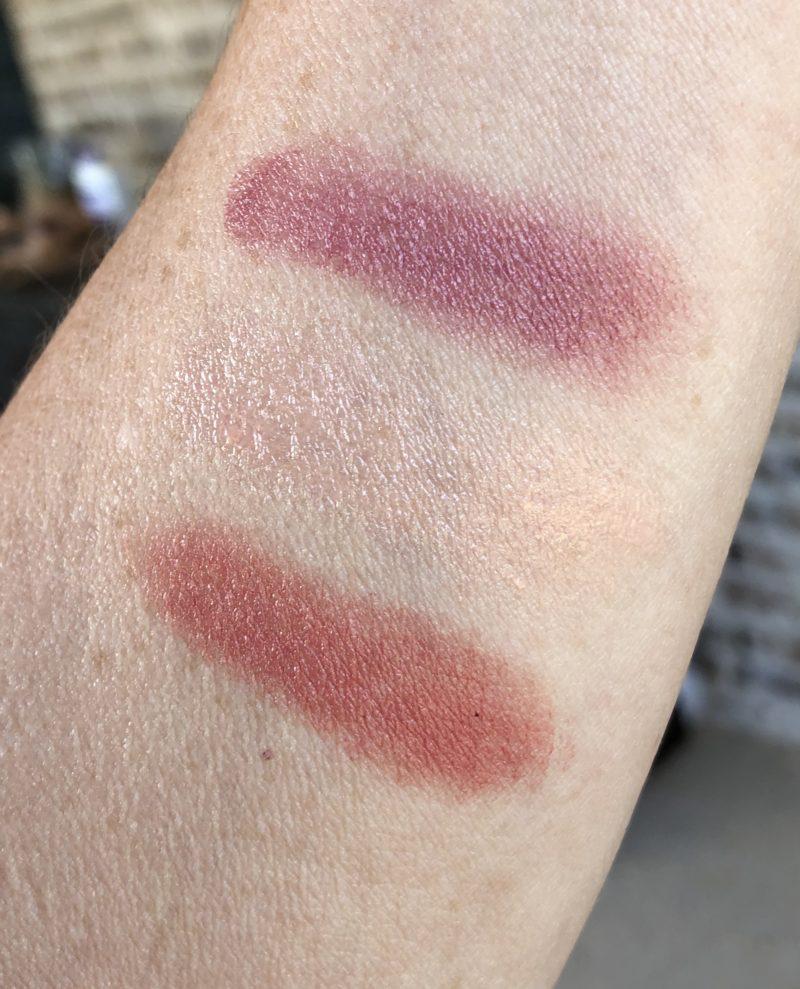 Babo Botanicals lip tints swatches