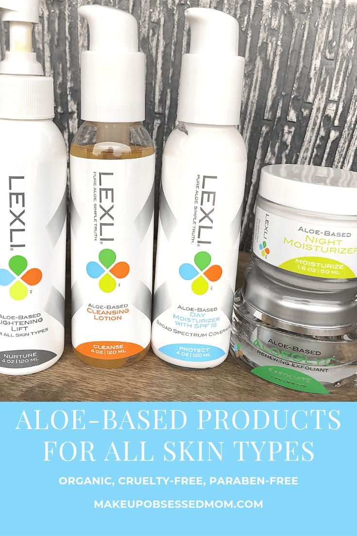 Aloe Based Skincare from Lexli