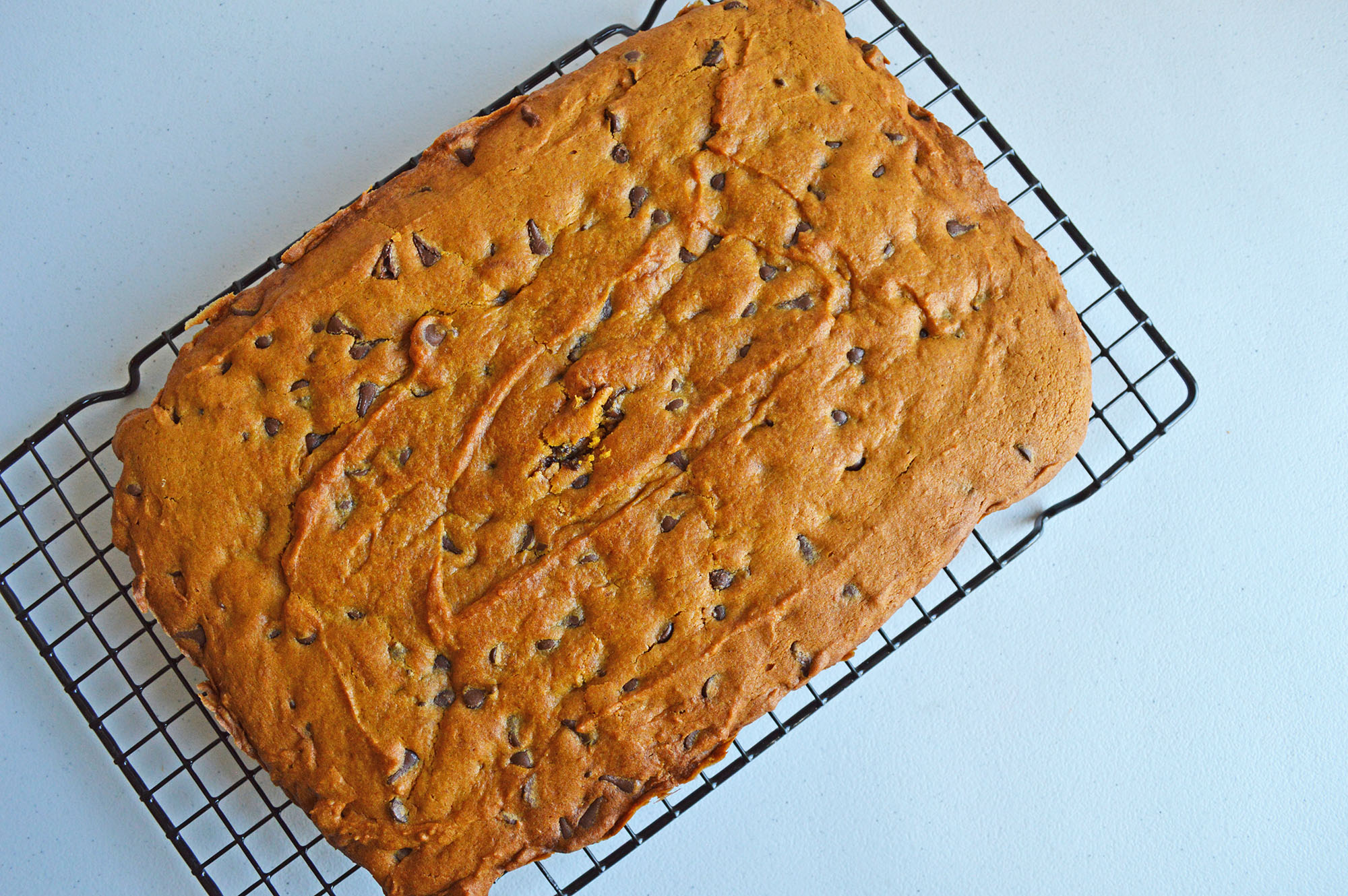 finished and cooled blondies