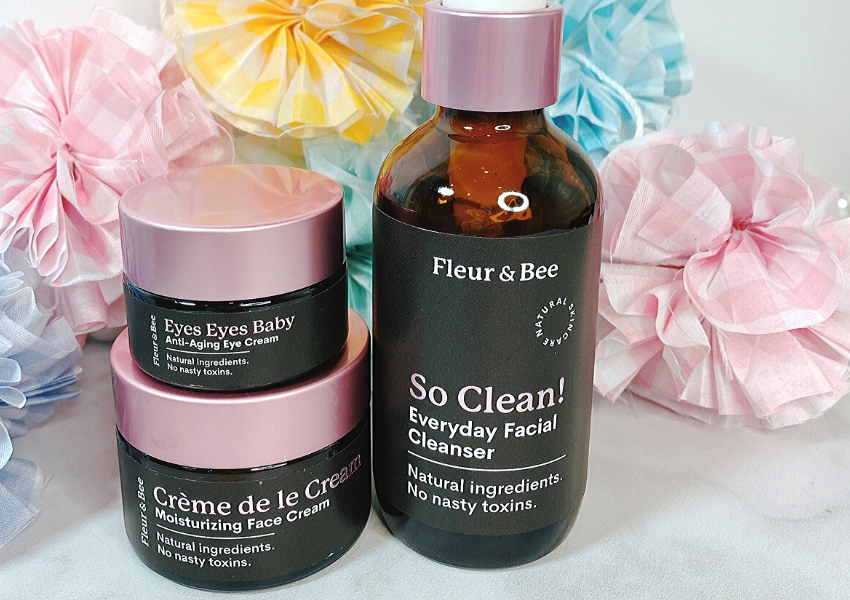 Fleur and Bee skincare review