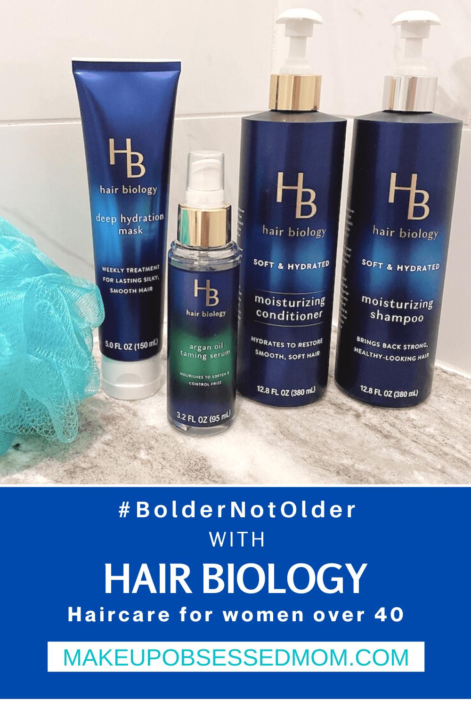 Bolder Not Older with Hair Biology