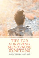 menopause survival tips