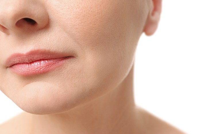 mature lips appear more youthful