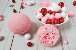 DIY bath bomb recipe