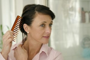 wide tooth comb for healthy hair