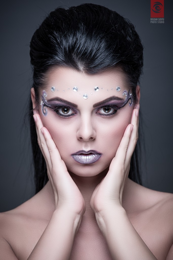 Photo/Edit: Bogdan Suditu Makeup: Make-up Swan by Aly Model: Beatrice Sandra