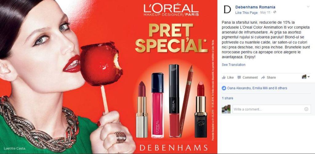 debenhams-loreal