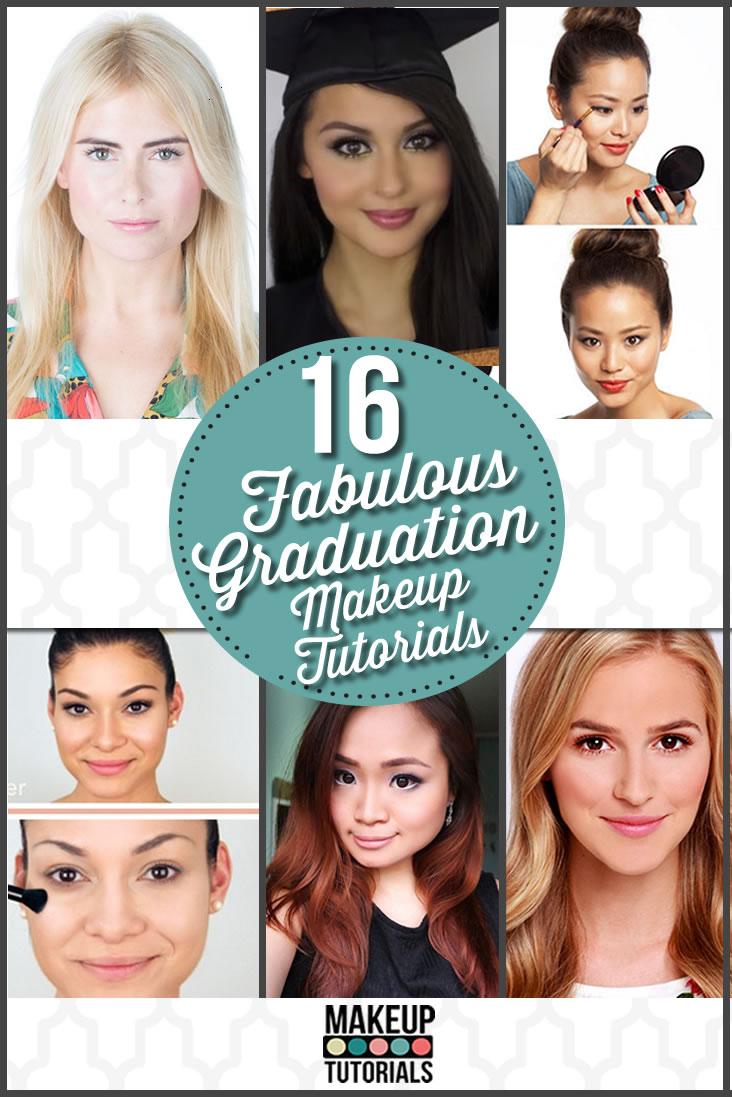 16 Easy Amp Pretty Graduation Makeup Tutorials