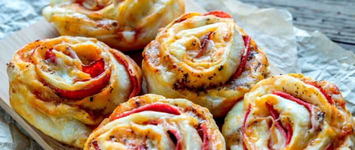 Homemade Pizza Rolls – A Great Party Food Appetizer or Snack