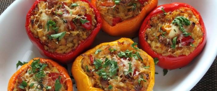 Instant Pot Stuffed Peppers – Made With Raw Hamburger
