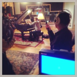 Derek Hough filming 'Let Me In' music video #22