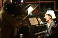 Derek Hough filming 'Let Me In' music video #4