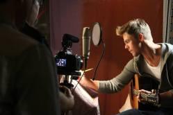 Derek Hough filming 'Let Me In' music video #26