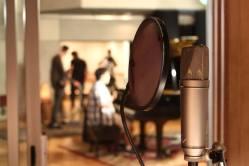 Derek Hough filming 'Let Me In' music video #10