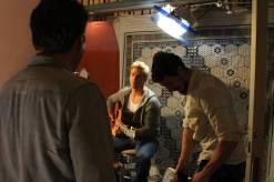 Derek Hough filming 'Let Me In' music video #13