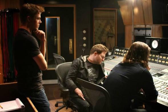 Derek Hough filming 'Let Me In' music video #16
