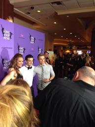 Amy Purdy, Mark Ballas and Derek