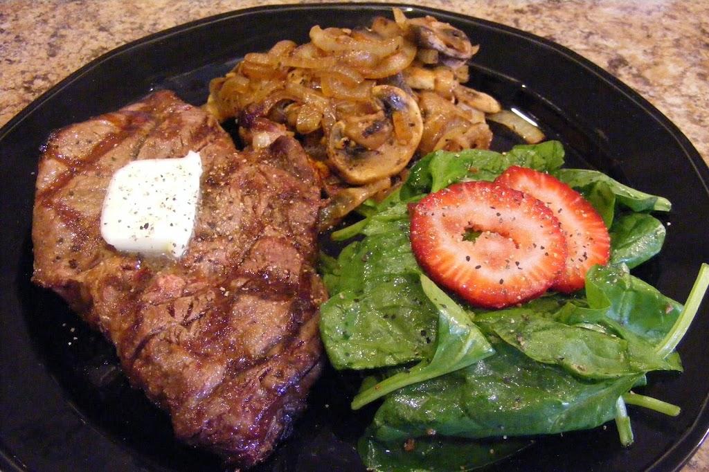 Simple Steak Dinner