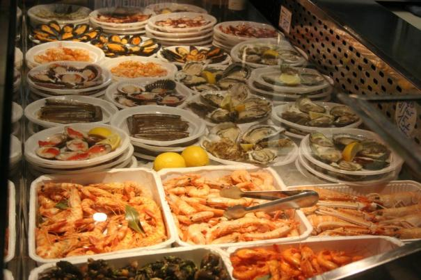 An AYCE seafood buffet. You KNOW you want to eat it all!