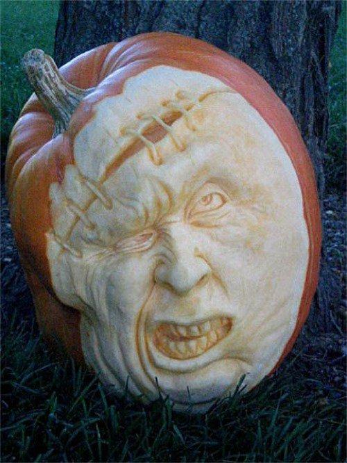 How to Carve/3D Sculpt Pumpkins