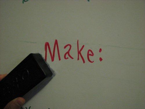 Turn a Chalk Board into a Dry Erase Board
