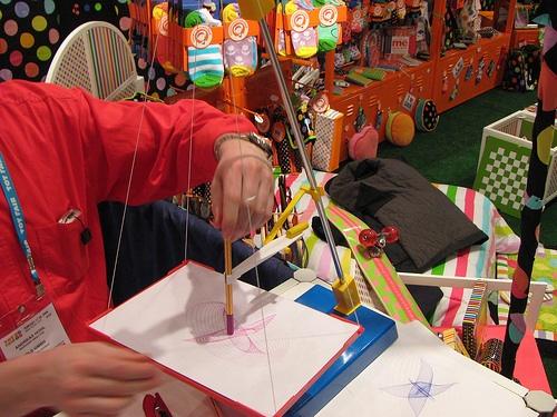 Swing-o-graph – draw with a pendulum / swing