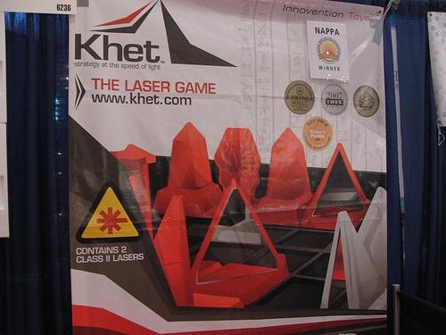 Khet – laser strategy game