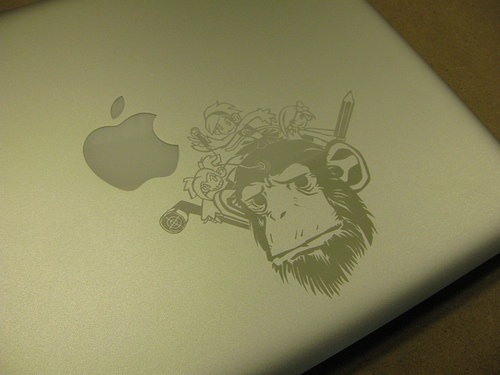 Macbook air – yes, it can be laser etched